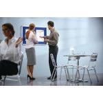Nobo Lockable 965x665mm Grey Visual Insert Board 31333500 | NB33500