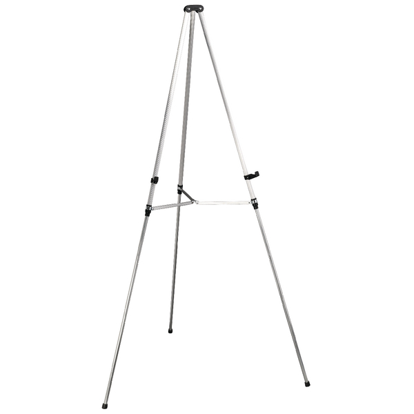 Nobo Aluminium Grey Telescopic Display Easel Q50E | NB50000