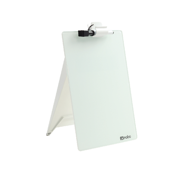 Nobo Diamond Glass Desk Top Easel 1905173 | NB50193