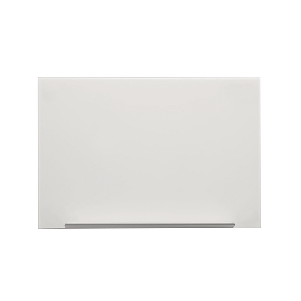 Nobo Diamond White 1260x711mm Magnetic Glass Board 1905177 | NB50197