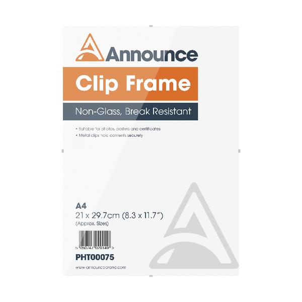 Announce A4 Clip Frame PHT00075 | PHT00075