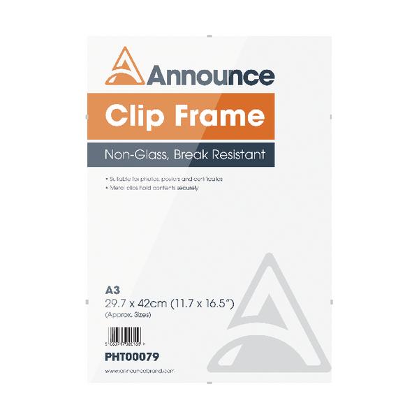 Announce A3 Clip Frame PHT00079 | PHT00079