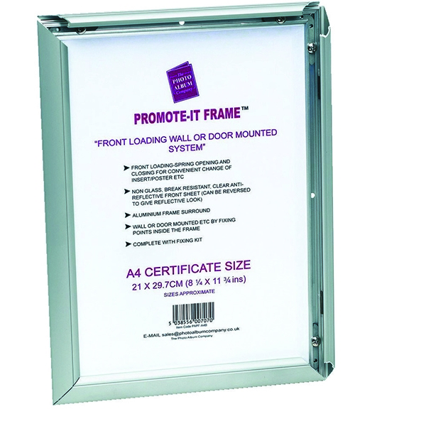 Photo Album Company Promote It Aluminium A3 Frame PAPFA3B | PHT00709