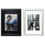 Photo Album Company A4 Shiny Black Certificate Frame PILA4SHIN-Black | PHT01716