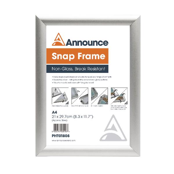 Announce A4 Snap Frame PHT01808 | PHT01808