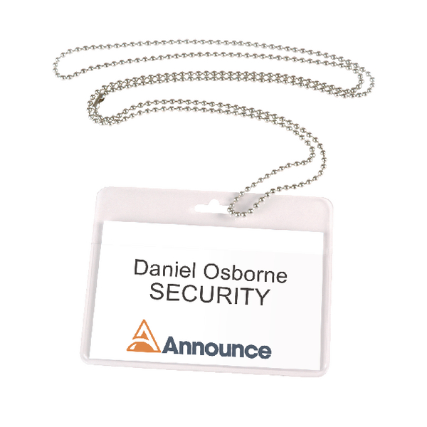 Announce Metal Neck Chain (Pack of 10) PV00927 | PV00927