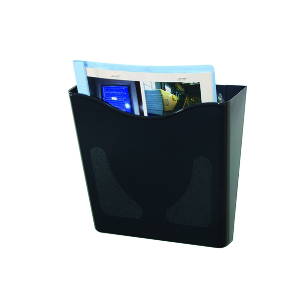 Deflecto Graphite Portrait A4 Literature Holder CP078YTGRA | RN07826