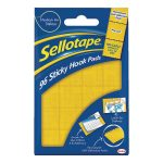 Sellotape Sticky Hook Pads (Pack of 96) 1445170 | SE4543