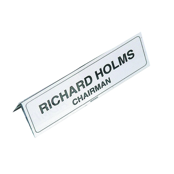 Identibadge Name Place Holder 210x65mm (Pack of 5) IBNP2 | SP20004